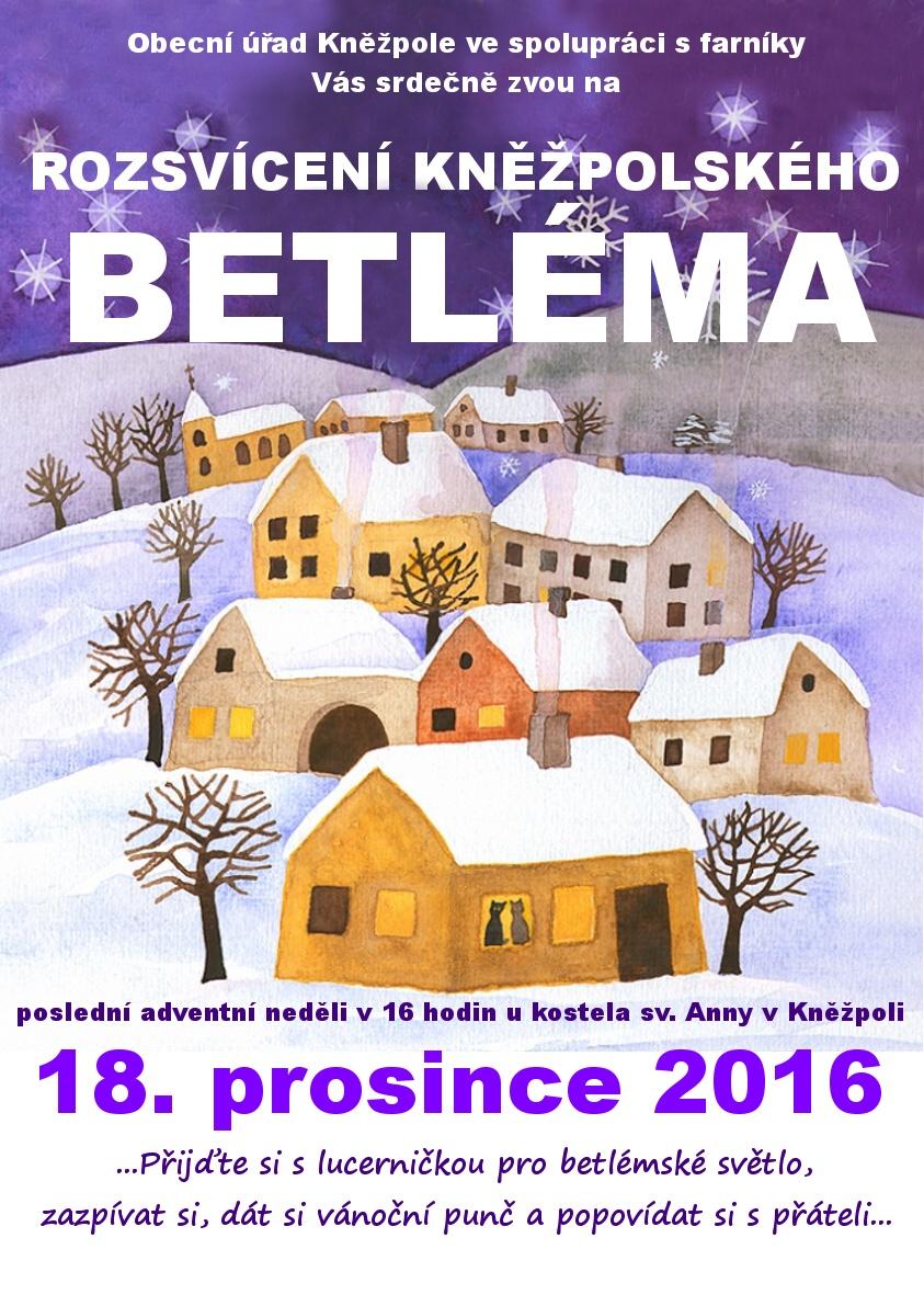 Betlém 2016 plakát