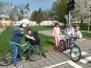 Dopravní hřiště - jaro