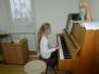 Vánoční vystoupení hudební školičky
